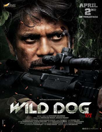 Wild Dog (2021) Telugu 720p WEB-DL Download