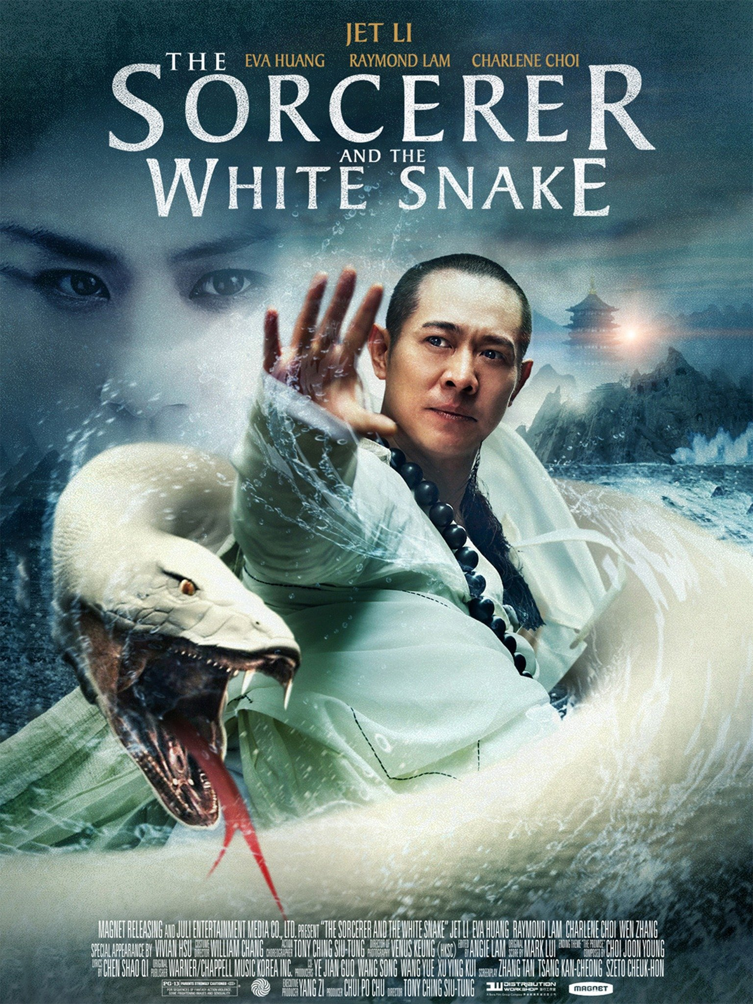 The Sorcerer and the White Snake (2011) Hindi Dubbed 720p HDRip Download