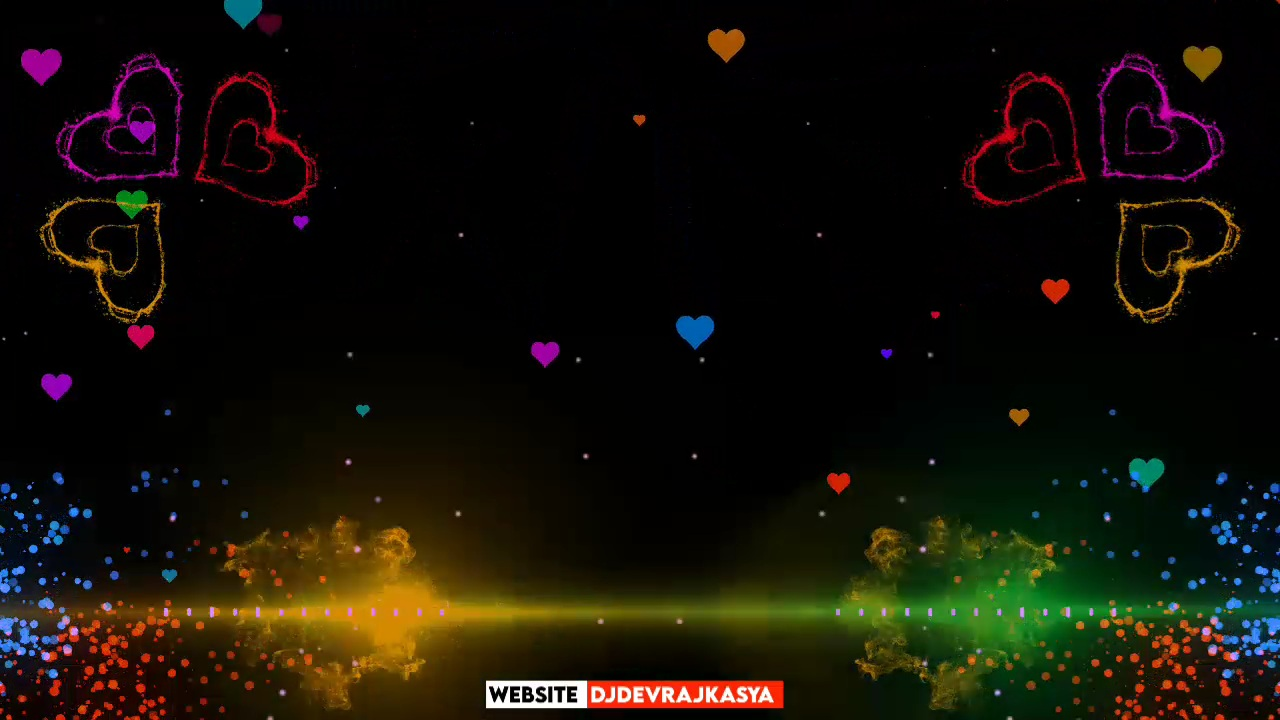 Awesome Heart Effect Green screen Whatsapp Status Avee Player Template Download