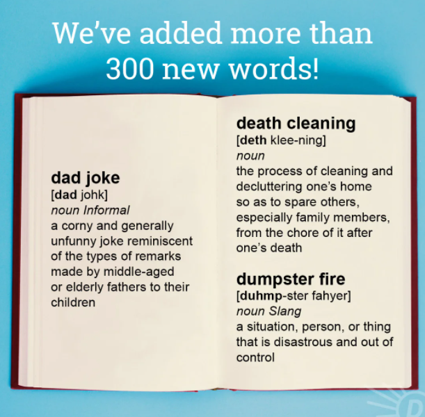 Dictionary.com adds over 300 new wordsto website, including 'Zaddy', 'Y'all', 'Asshat'