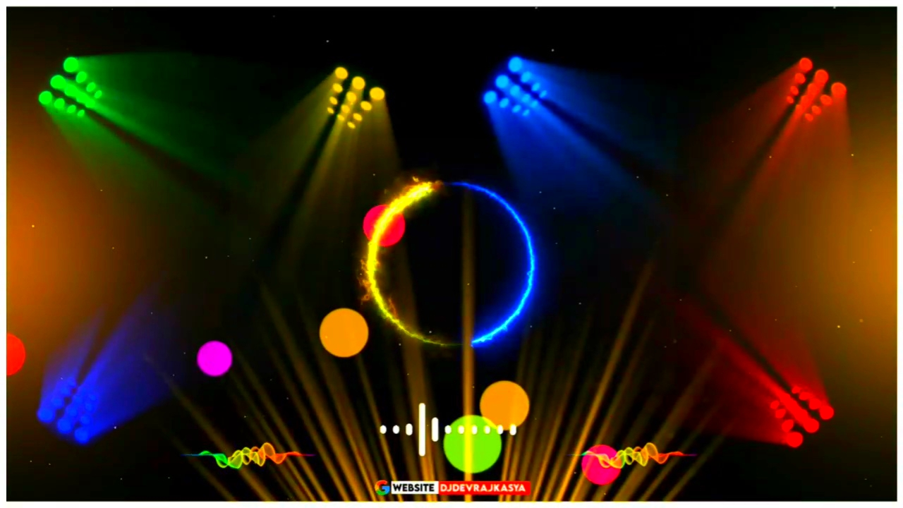 Awesome Trending Green Screen Dj Light Avee Player Template Download
