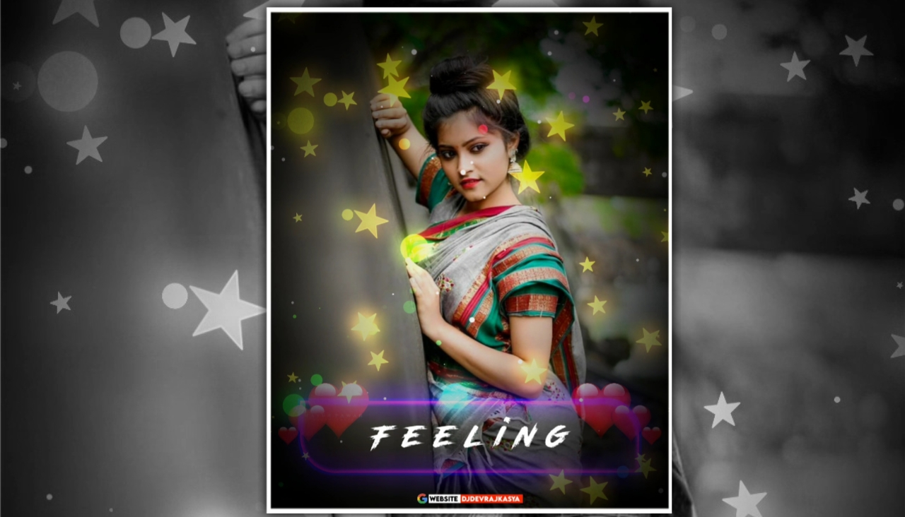 Feeling Trending Star Partical Full Screen Avee Player Template Download