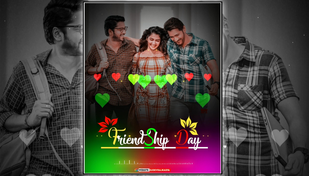 TOP Friendship Day Special Full Screen Avee Player Template Download 2021
