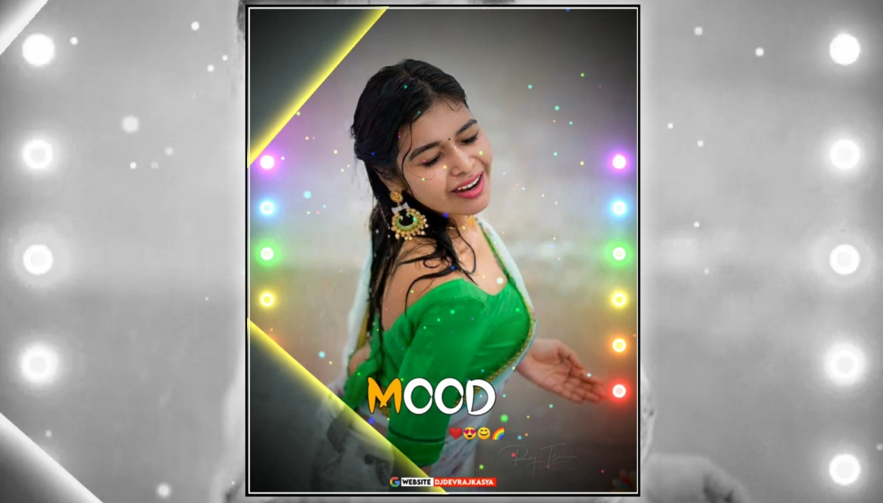 Mood Op Lighting Effect Full Screen Avee Player Visualizer Template Download Free 2022