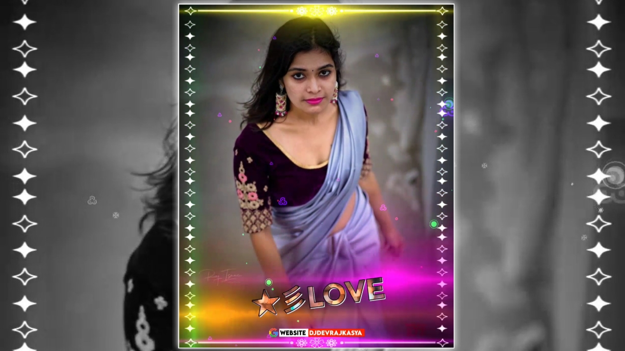 Lighting Effect Full Screen Avee Player Visualizer Template Download Free 2022