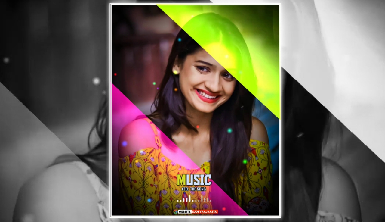 Music RGB Effect Full Screen Avee Player Visualizer Template Download Free 2022