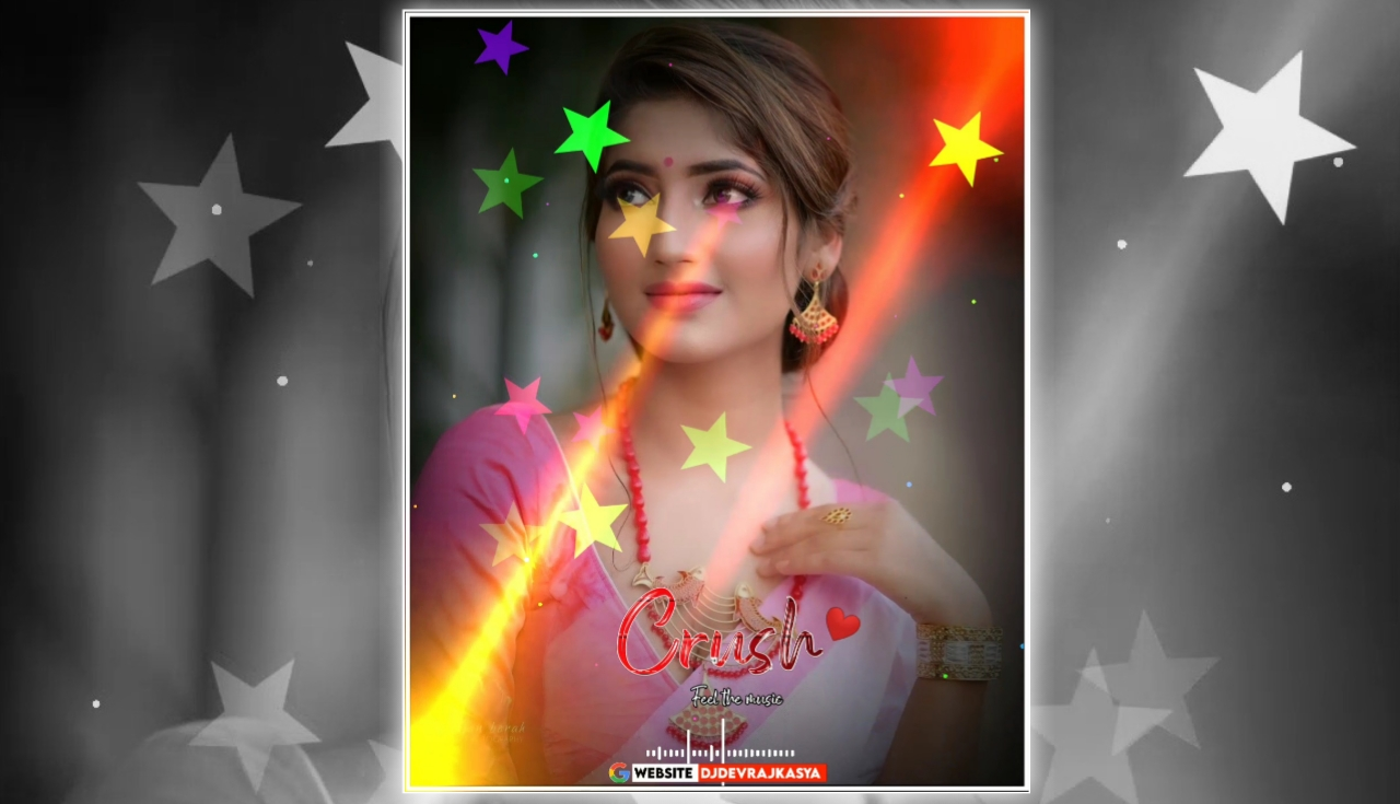 Crush Star Partical Trending Effect Full Screen Avee Player Visualizer Template Download Free 2022