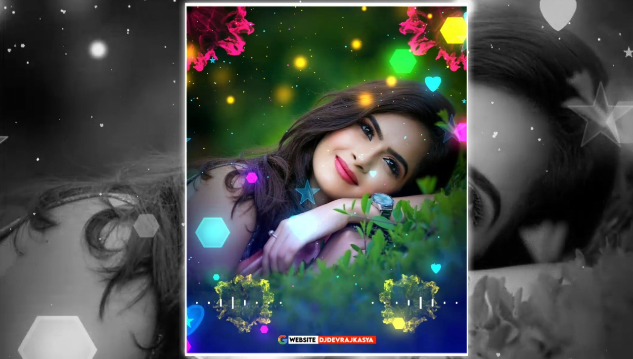 Awesome Mix Partical Full Screen Avee Player Visualizer Template Download Free 2022