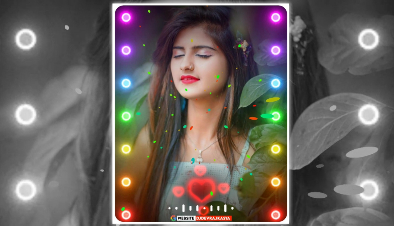 Lighting Effect Full Screen Avee Player Visualizer Template Download Free 2022 New