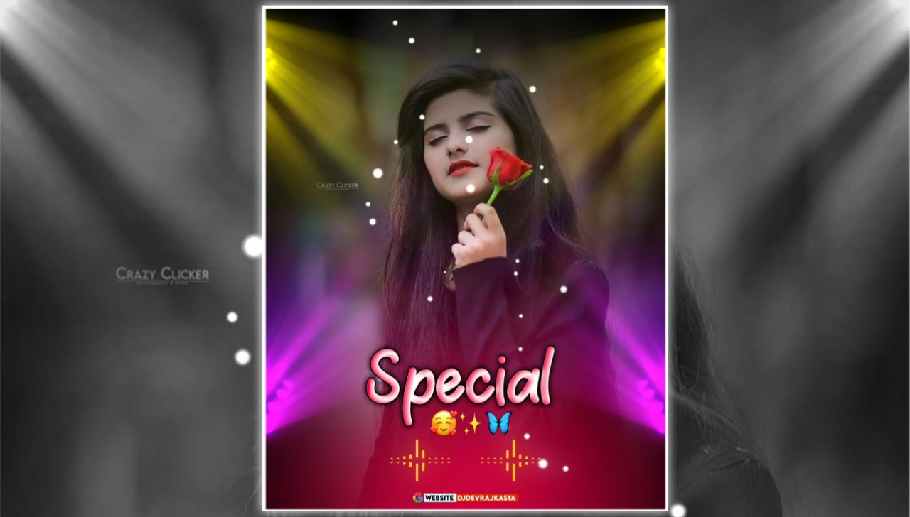 Special Full Screen Dj Lighting Effect Full Screen Avee Player Visualizer Template Download Free 2022