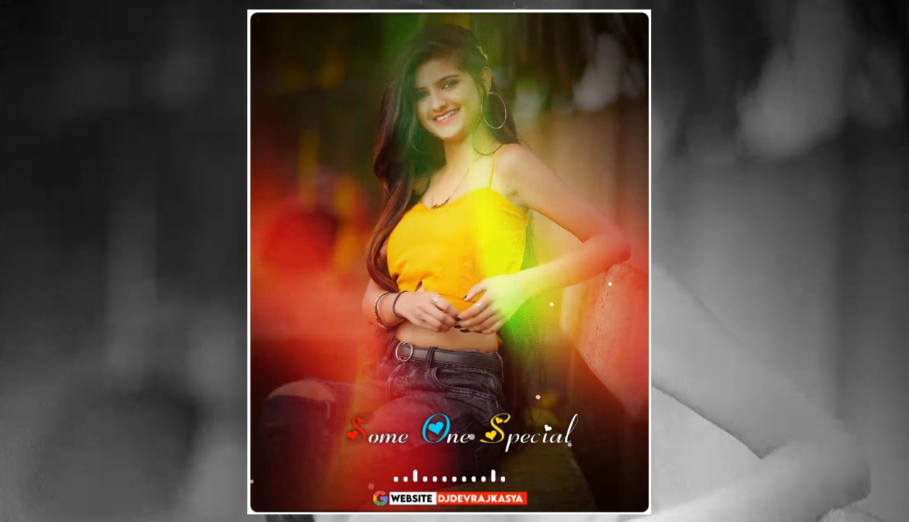 Someone Special Trending Effect Full Screen Avee Player Visualizer Template Download Free 2022