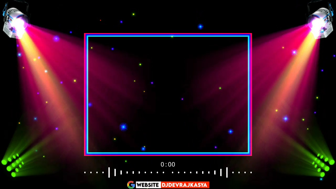 Disco Light Effect Green screen Avee player Template Background Video Download Free