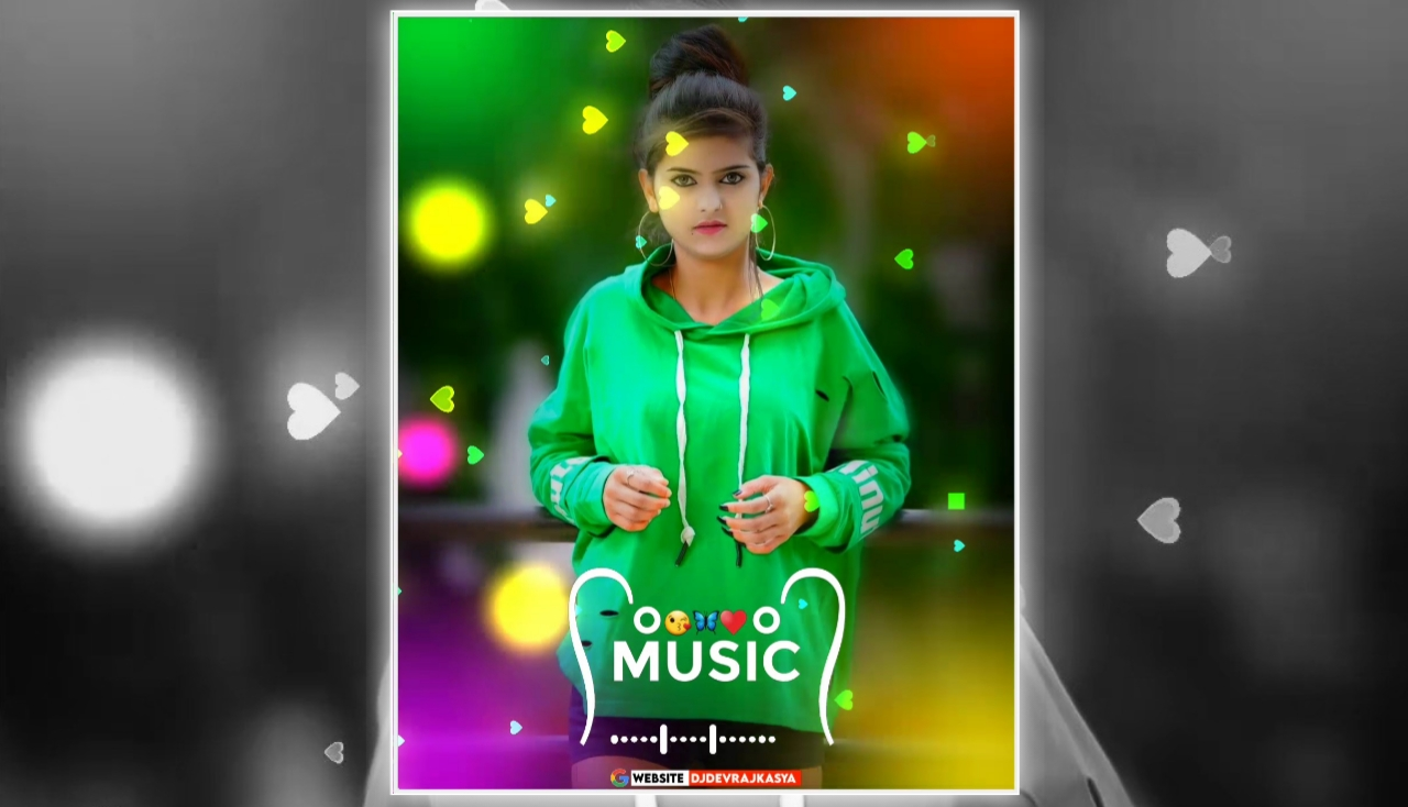 Music Op Lighting Effect Full Screen Avee Player Visualizer Template Download Free 2022
