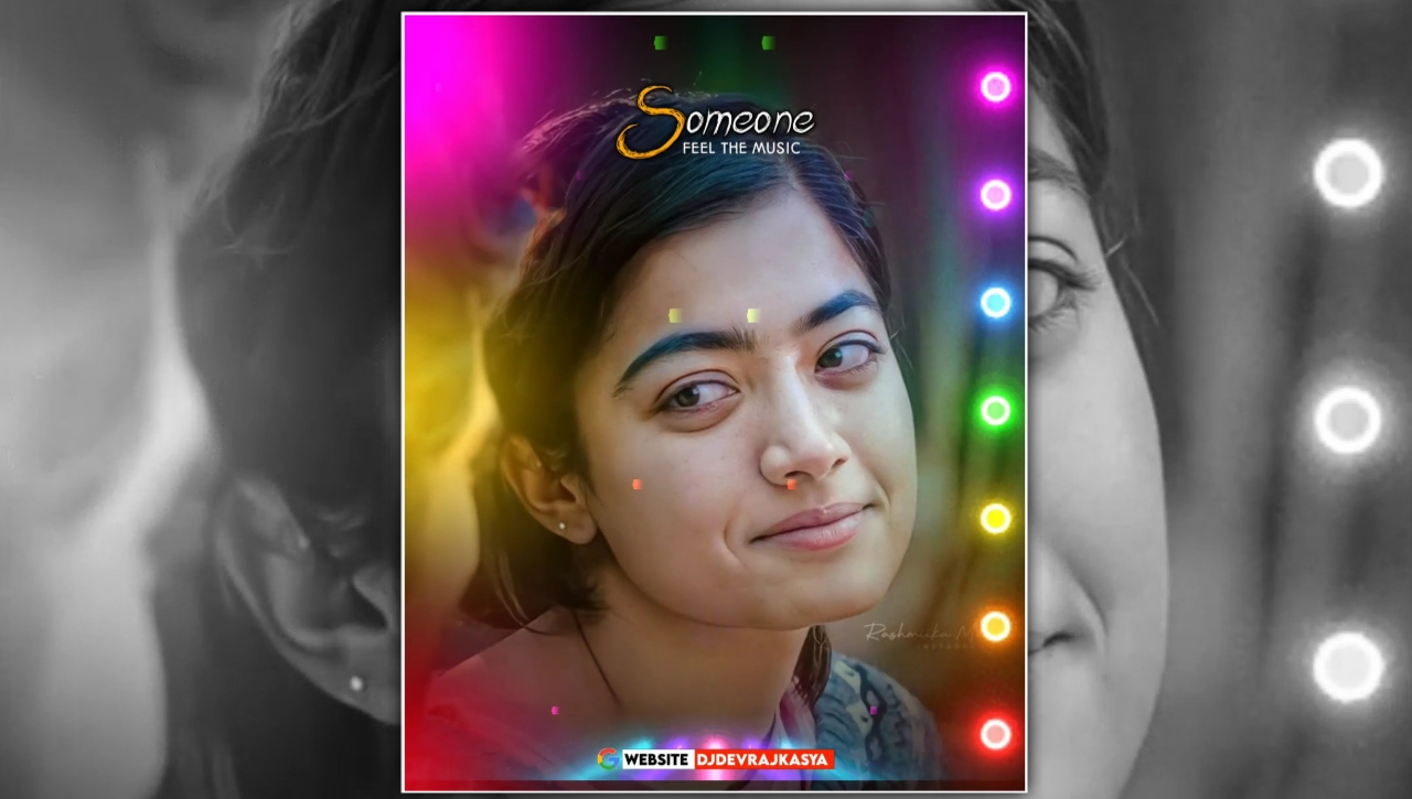 Someone Lighting Special Effect Full Screen Avee Player Visualizer Template Download Free 2022