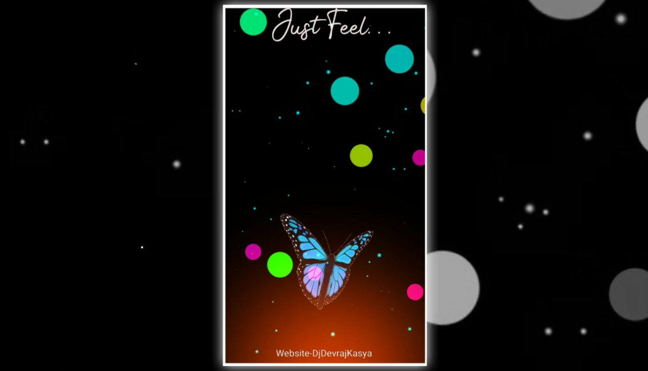 Butterfly Effect 2022 Avee Player Full Screen Visualizer Template Download Free 2022