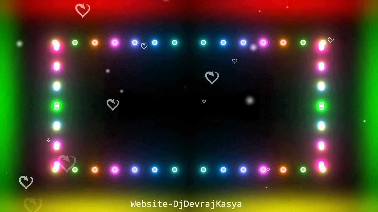 LED Lighting Effect Black Screen Avee Player Visualizer Template Download 2022