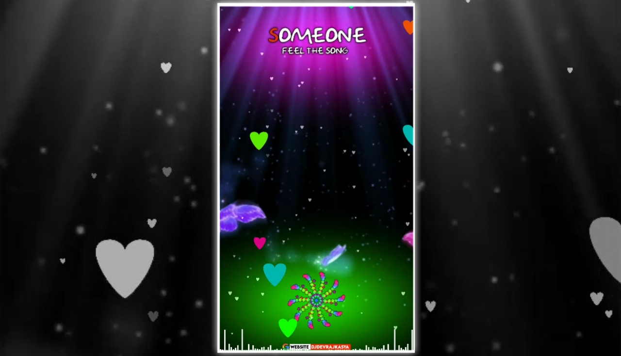 Special Effect Full Screen Avee Player Visualizer Template Download Free 2022
