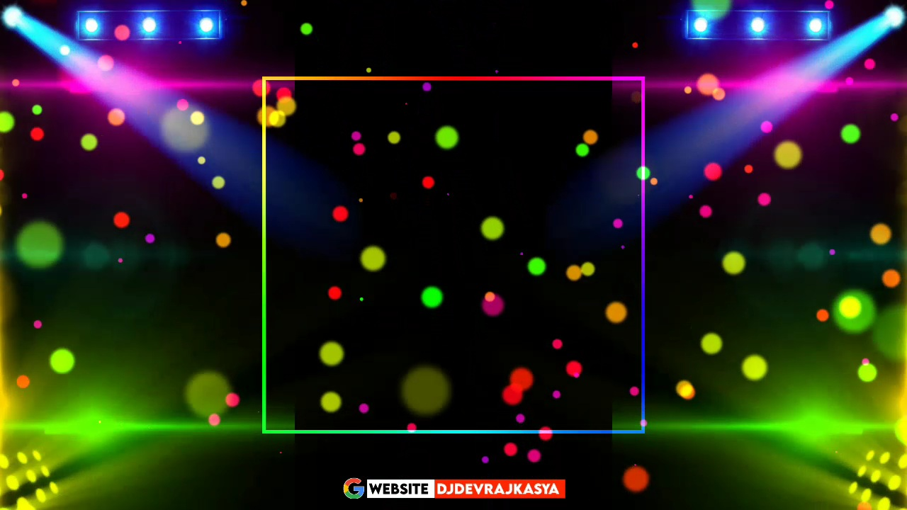 Dj Light All Mix Black Screen Template Background Video Download Free