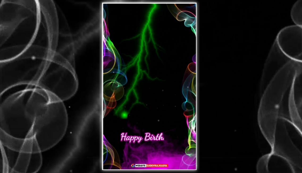 Special Effect Happy Birthday Full Screen Template Background Video Download Free