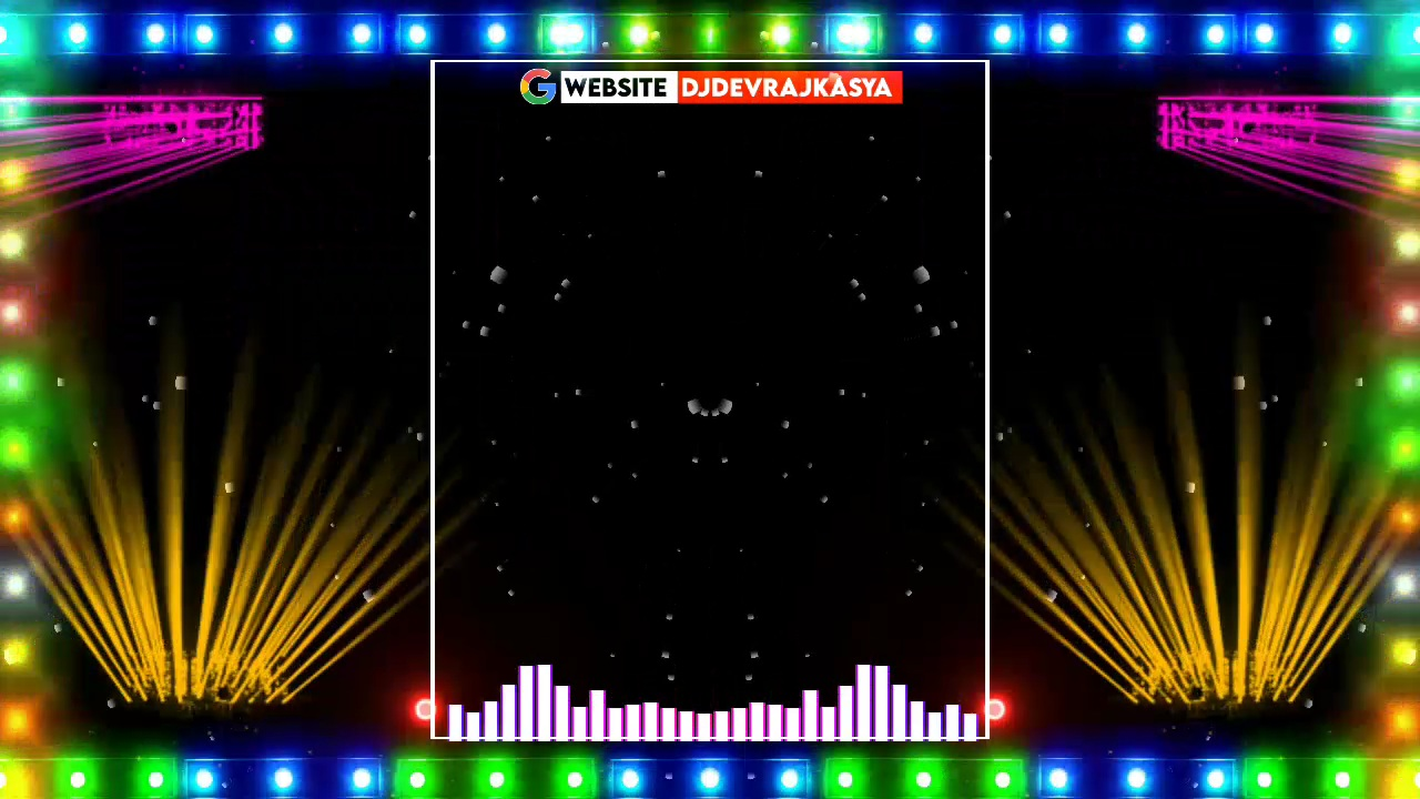 Special Dj Light Effect Black Screen Template Background Video Download Free