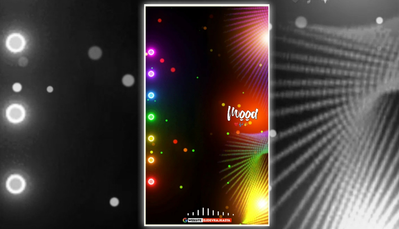 Trending Special Effect Lighting Mood Full Screen Avee Player Visualizer Template Download Free 2022
