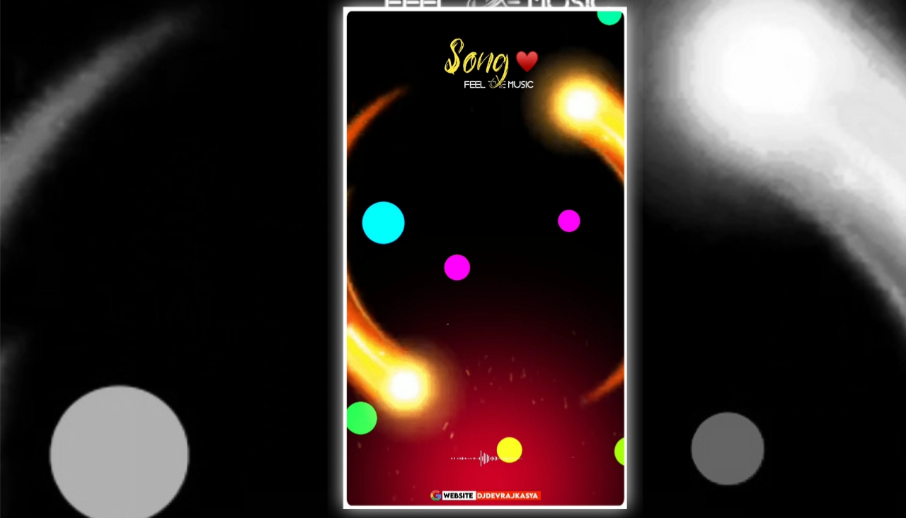 Neon Effect Full Screen Avee Player Visualizer Template Download Free 2022