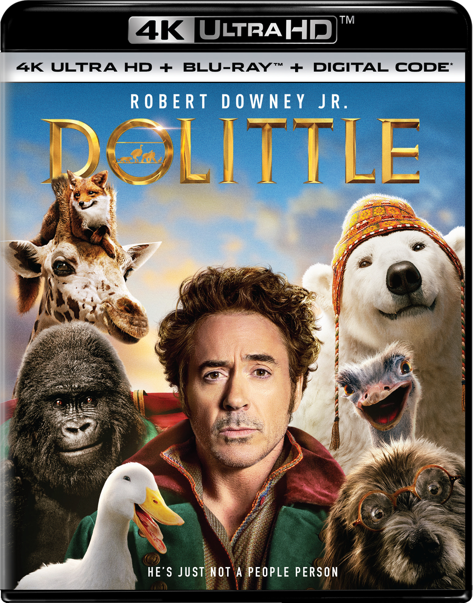 Dolittle (2020) ORG Hindi Dual Audio 400MB BluRay 480p ESubs Download