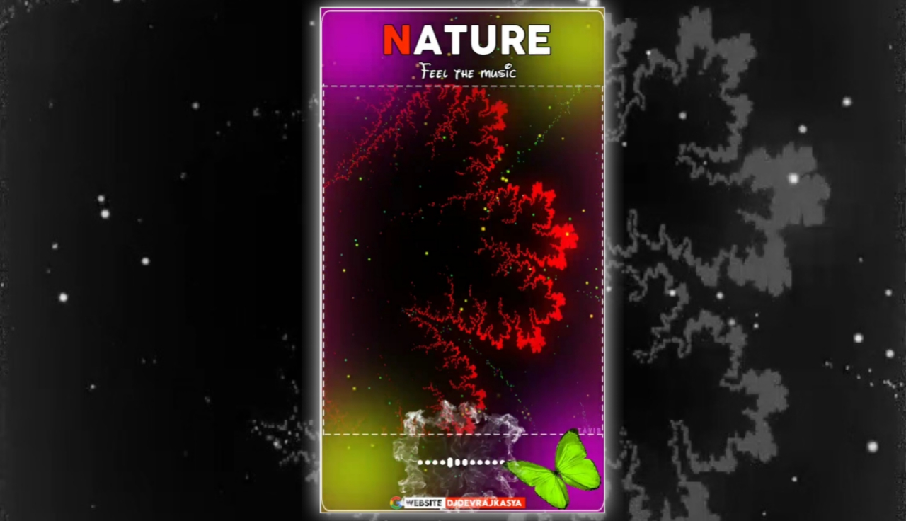 Nature Trending Effect Full Screen Avee Player Visualizer Template Download 2022