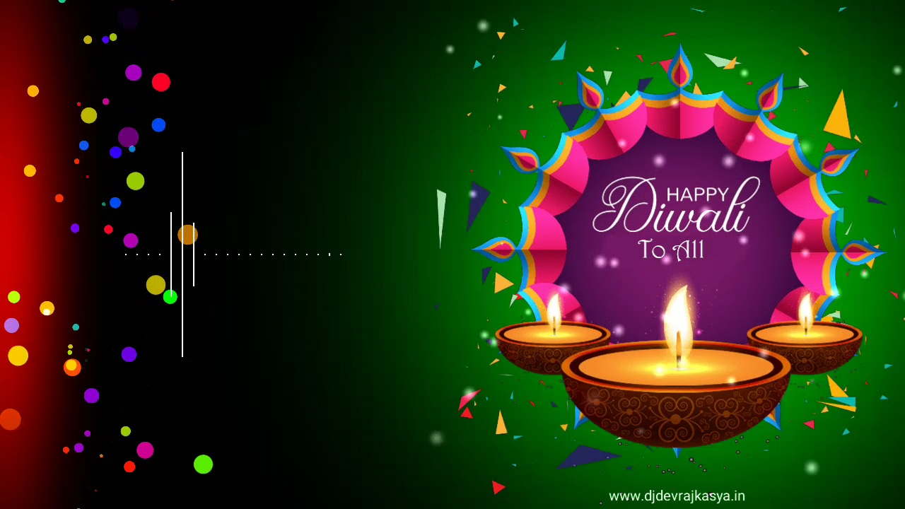 Diwali Special Black Screen Template Background Video Download Free